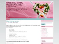 Web Design: Catering Miami