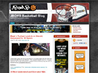 Web Design: JBOMB Basketball Blog